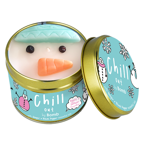 Bomb Cosmetics Chill Out Snowman Candle