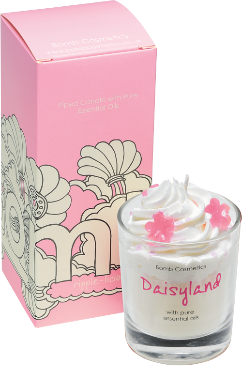 Bomb Cosmetics Daisyland Piped Candle