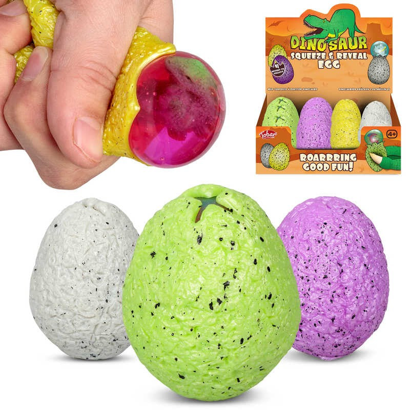 Tobar Dinosaur Squeeze And Reveal Egg