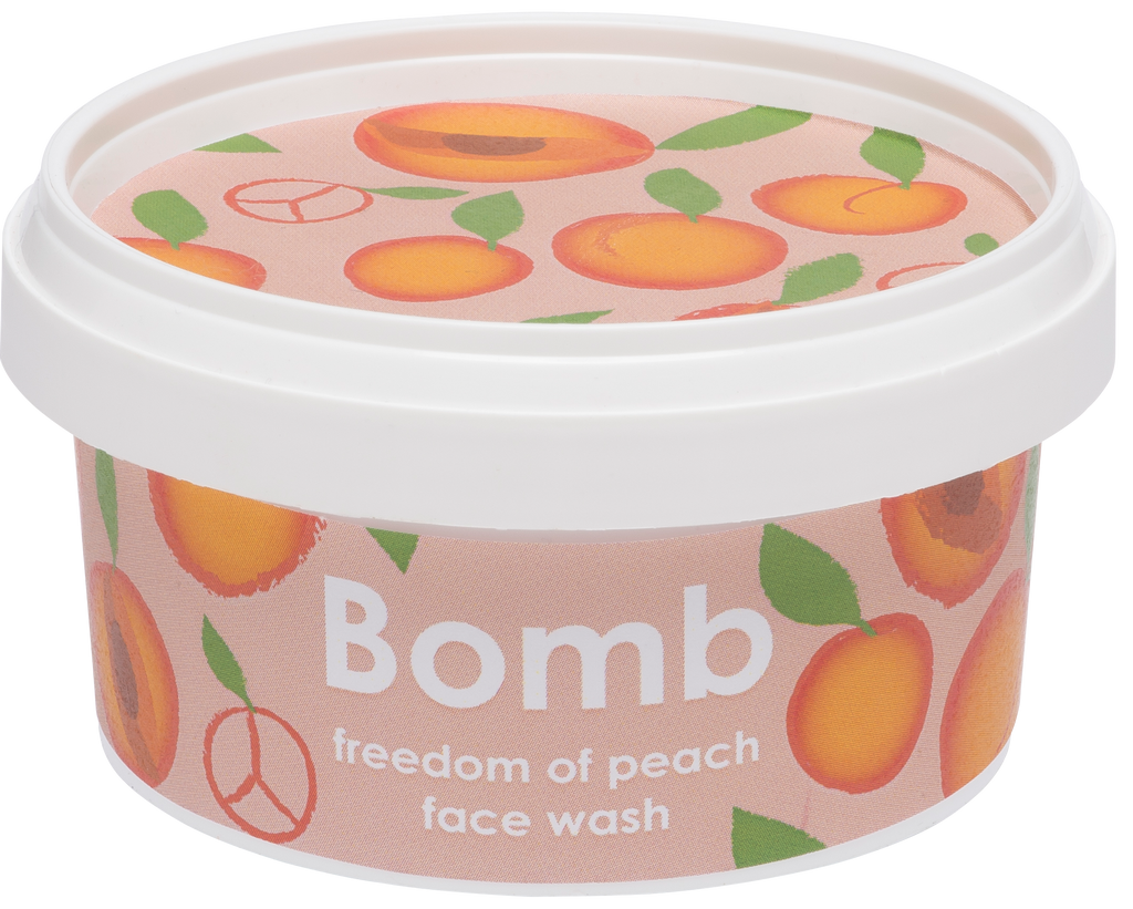 Bomb Cosmetics Freedom of Peach Face Wash