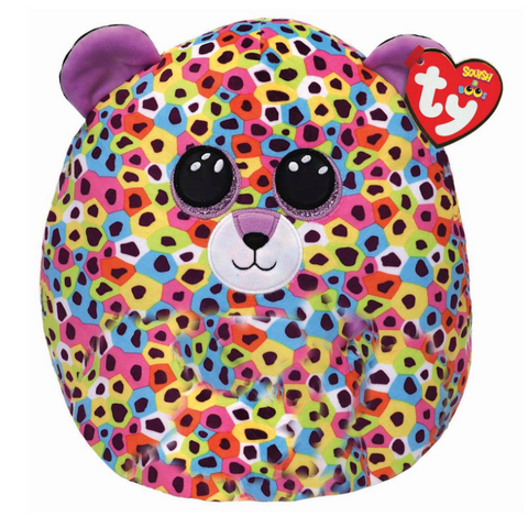 Giselle the Leopard Squish A Boo Plush 12""