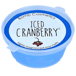 Bomb Cosmetics Iced Cranberry Wax Melt