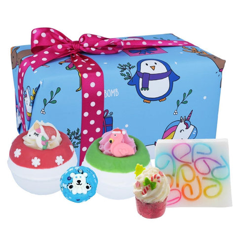 Bomb Cosmetics Crazy Christmas Bath Bomb Gift Pack