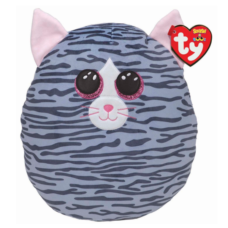 Kiki the Cat Squish A Boo Plush 12""