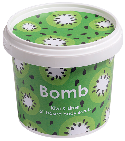 Bomb Cosmetics Kiwi and Lime Oil Body Scrub