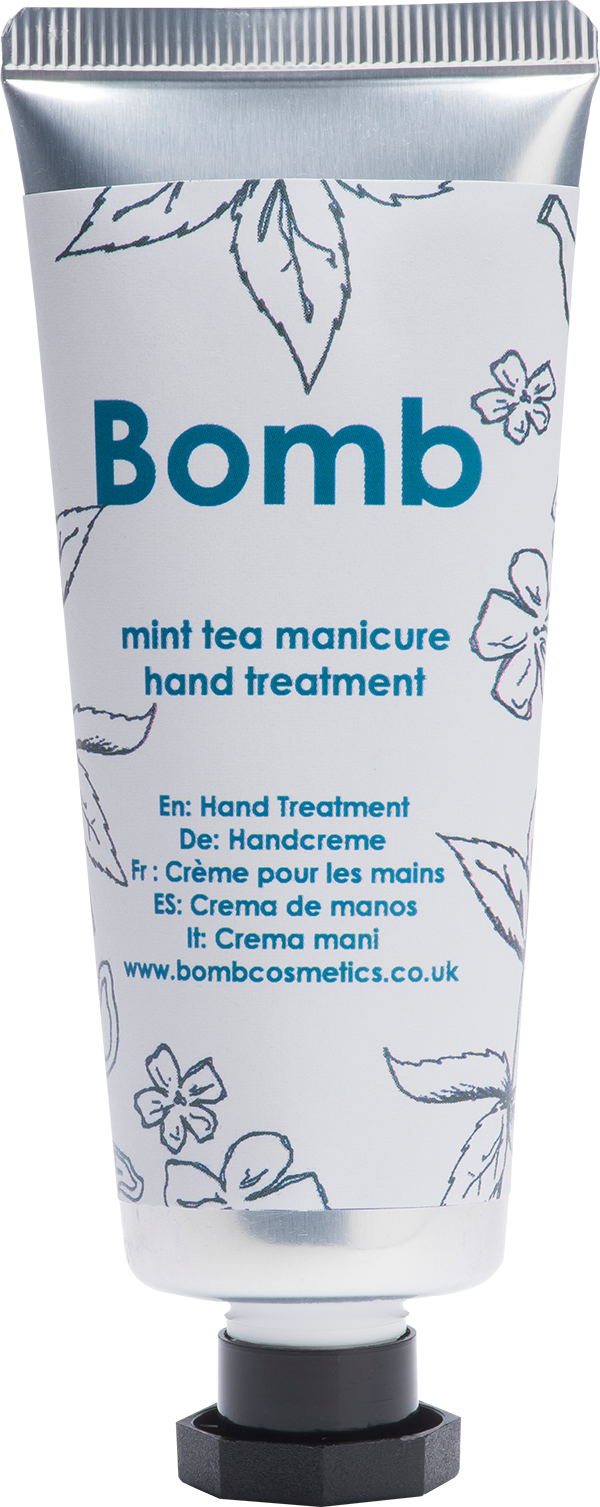 Bomb Cosmetics Mint Tea Manicure Hand Cream 25ml