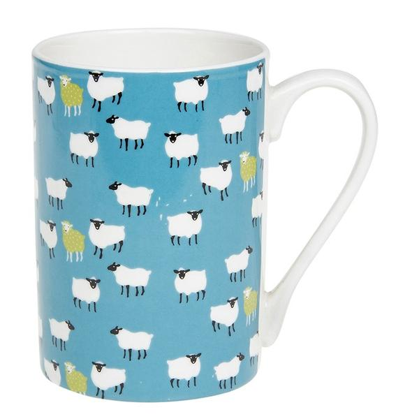 Peony Fine China Sheep Mug
