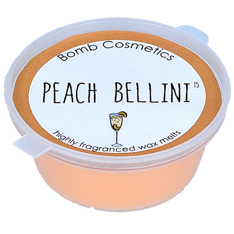 Bomb Cosmetics Peach Bellini Wax Melt