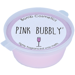 Bomb Cosmetics Pink Bubbly Wax Melt