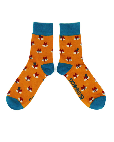 Powder Men's Fox Faces Socks