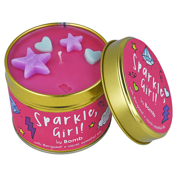 Bomb Cosmetics Sparkle Girl Candle