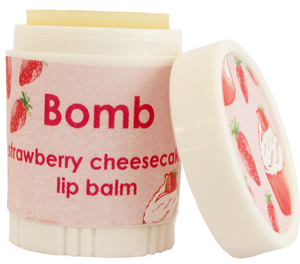 Bomb Cosmetics Strawberry Cheesecake Lip Balm