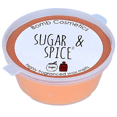 Bomb Cosmetics Sugar and Spice Mini Wax Melt
