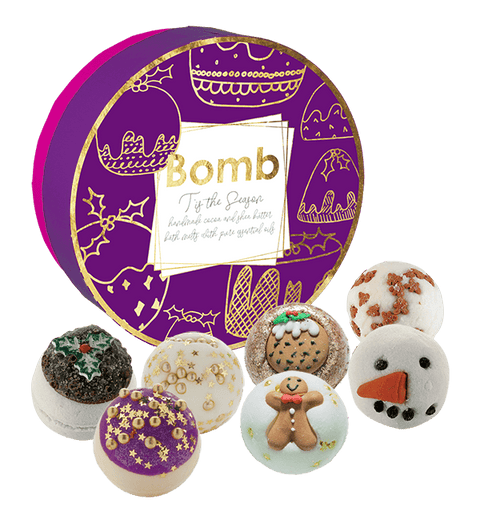 Bomb Cosmetics T'is the Season Creamer Gift Pack