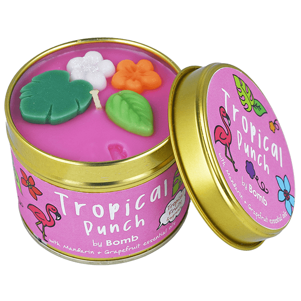 Bomb Cosmetics Tropical Punch Candle