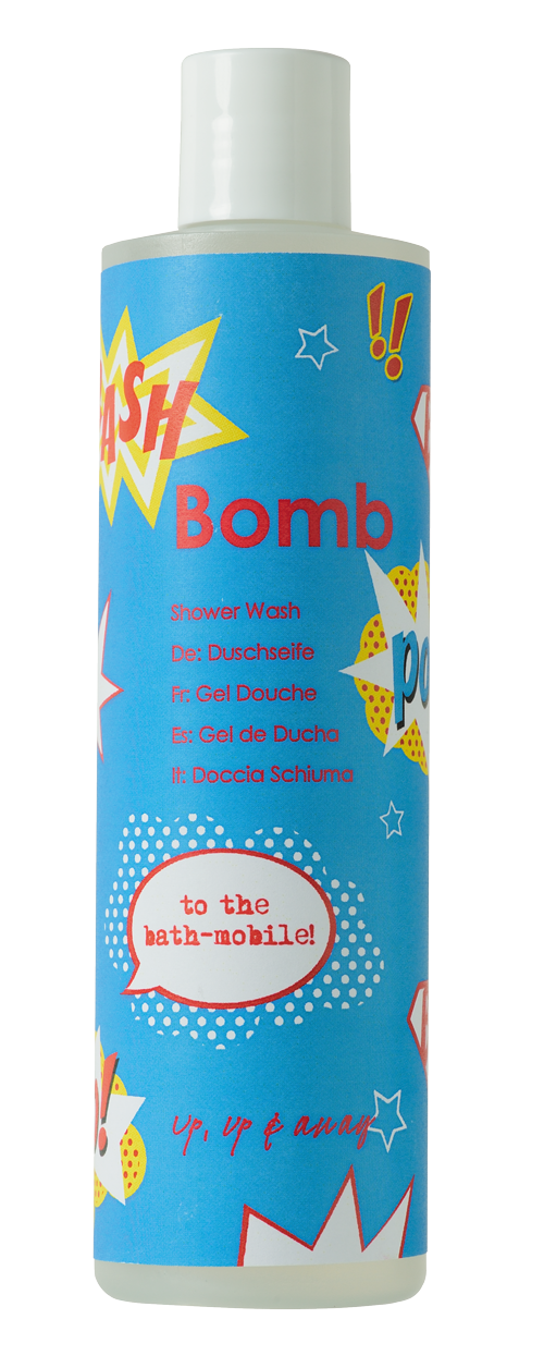 Bomb Cosmetics Up Up and Away Shower Gel