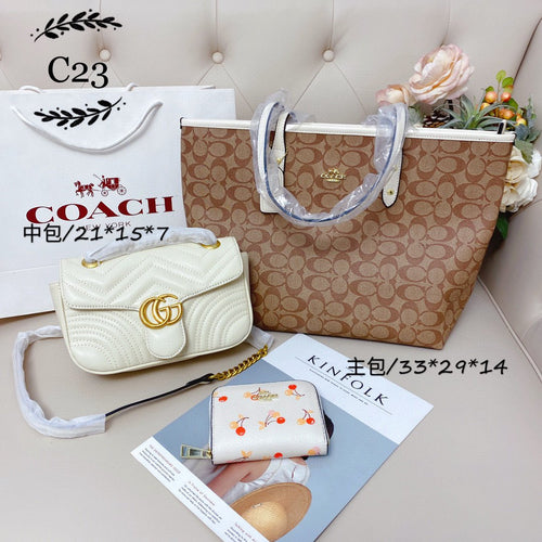 Coch Tote Bag Combo