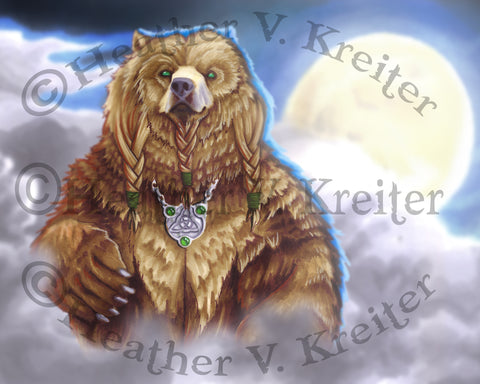 Celtic Bear Prints