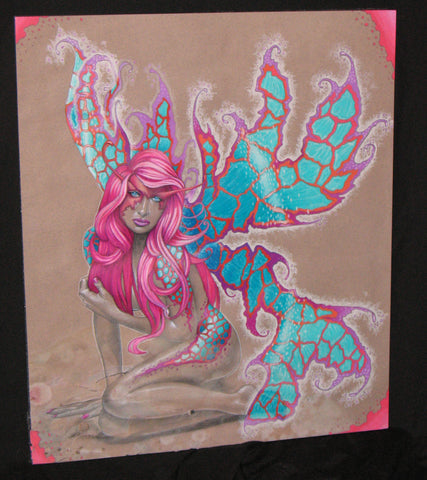 Elektra Pink Original *WATER DAMAGED*