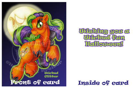 Halloween/Samhain Greeting Card