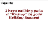 Krampus Holiday Card
