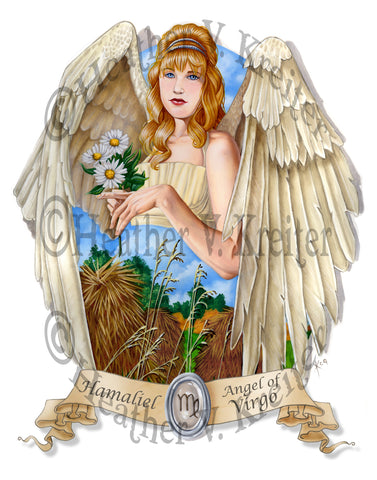 Angel of Virgo Prints