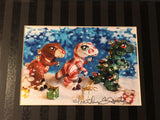T-Rex Trio Prints & Cards