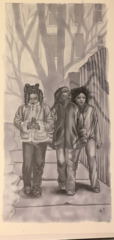 WoD: Innocents - Streetwise Drawing