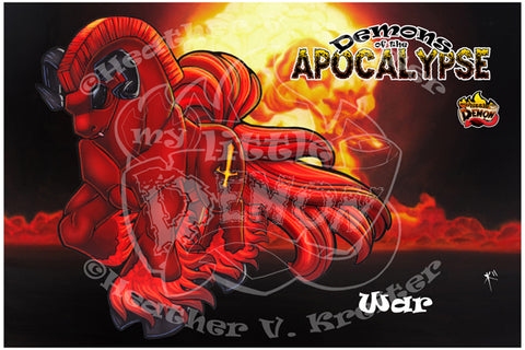 Demons of the Apocalypse - War