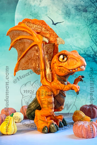 Pumpkin Dragon Prints