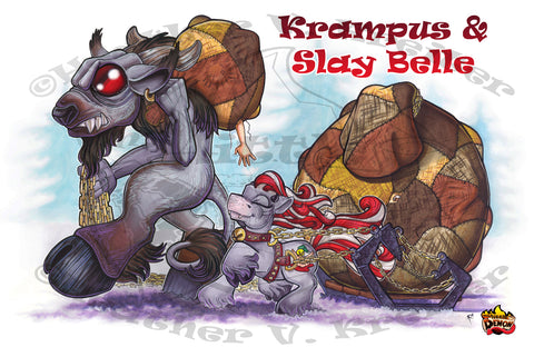 Krampus & Slay Belle