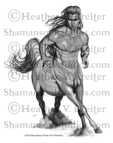 WoD: Changing Breeds - Centaur Print