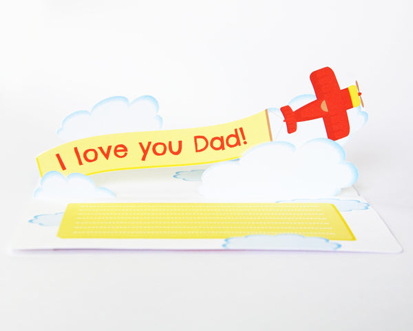 Pop Up Father's Banner Card
