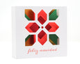 3D Poinsettia Card