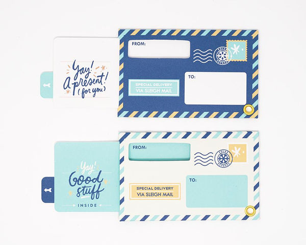 Interactive Holiday Gift Tags by Everyday Yay