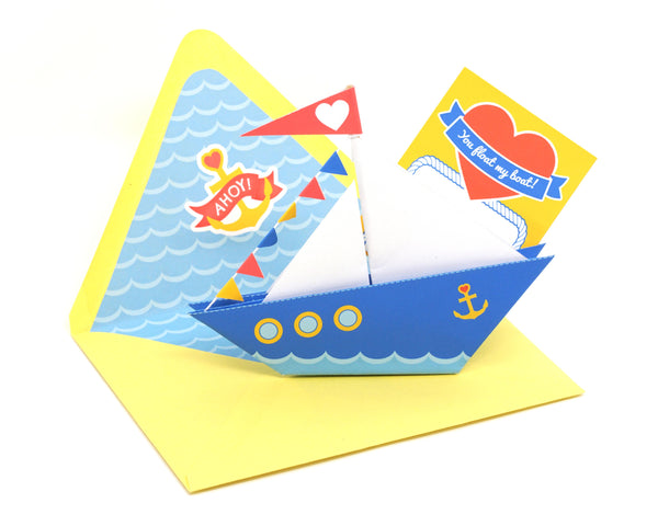 DIY Love Boat Card Kit