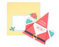 DIY Origami Santa Card Kit