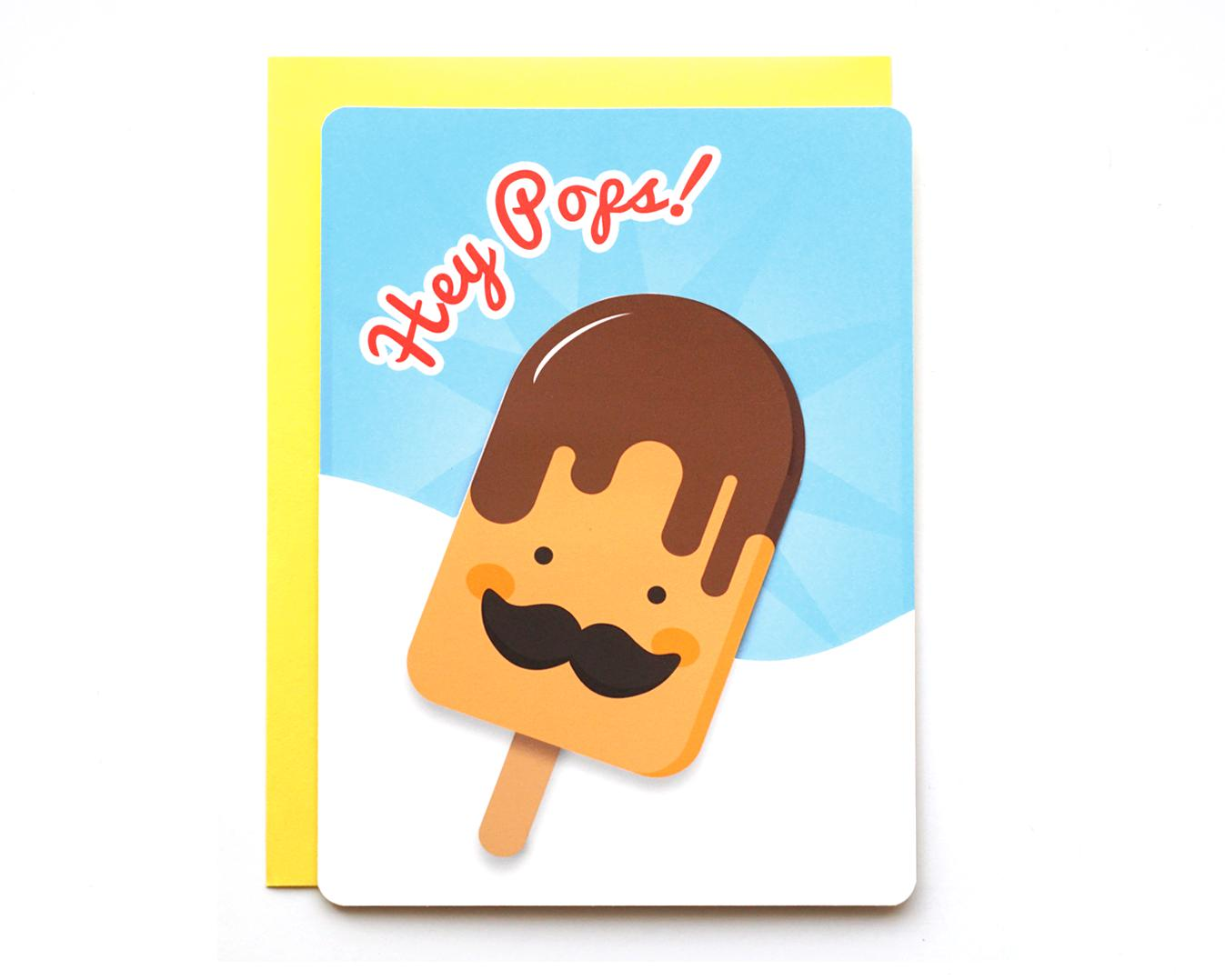 Father's Popsicle Card