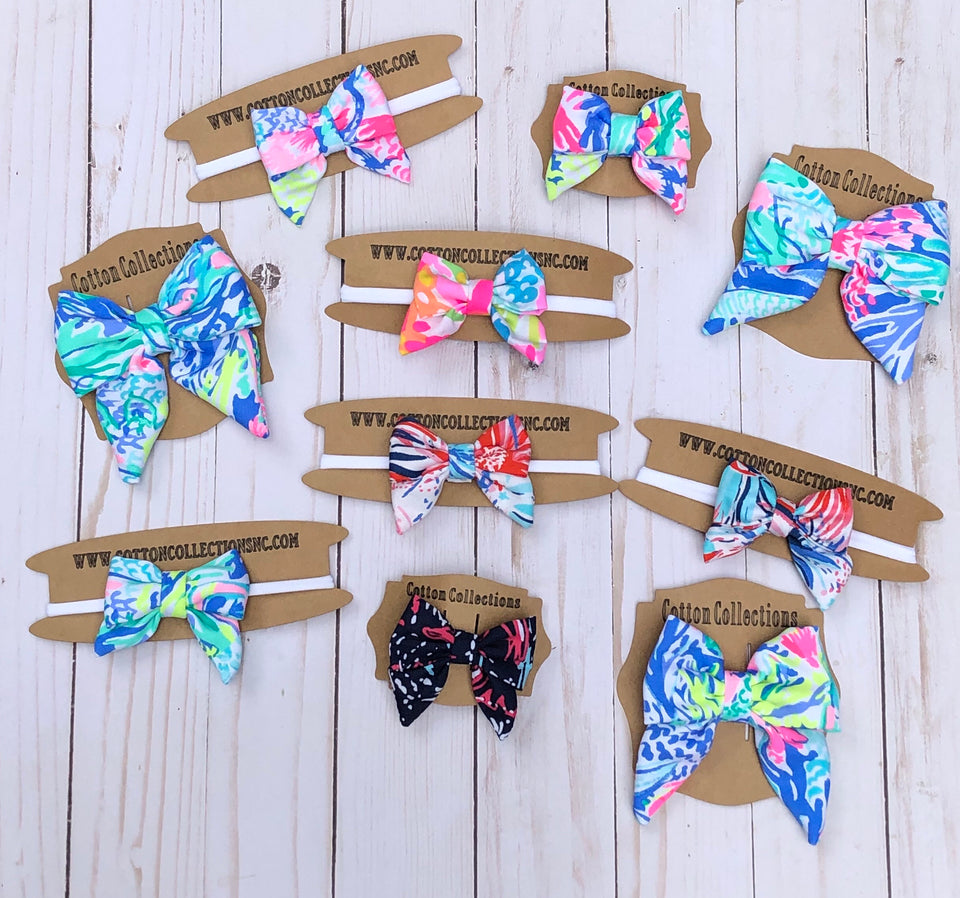 Lilly hair bows