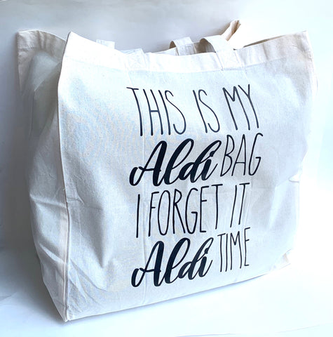 XL aldi shopping bag