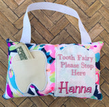Lilly pulitzer tooth fairy pillow