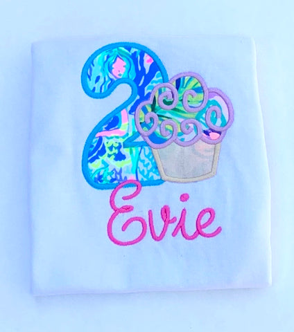 Lilly Birthday Shirt