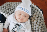 Personalized infant hat, name hat