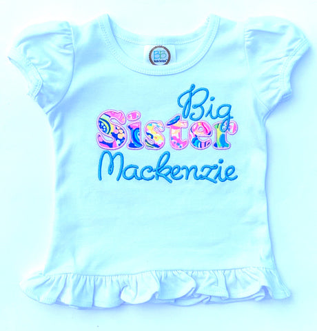 Lilly Big Sister Shirt