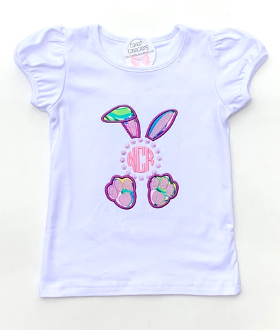 Lilly Easter Bunny Monogram Shirt