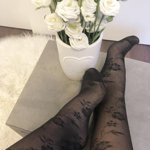 Knee High Mesh Socks