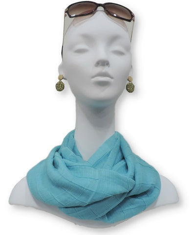 Cotton Pleated Scarves