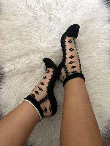 Striped & Dotted Socks
