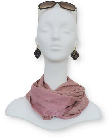 Shimmer Cotton Scarves