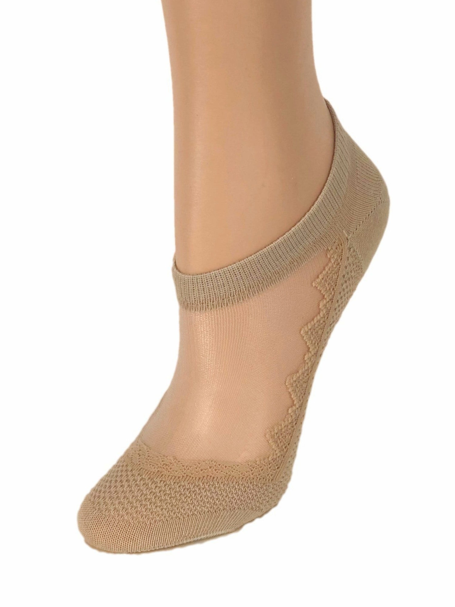 Beautiful Brown Ankle Sheer Socks - Global Trendz Fashion®